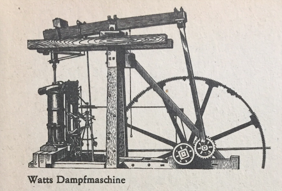 Watts Dampfmaschine