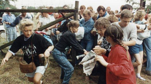 Fluchtwelle Ungarn 1989