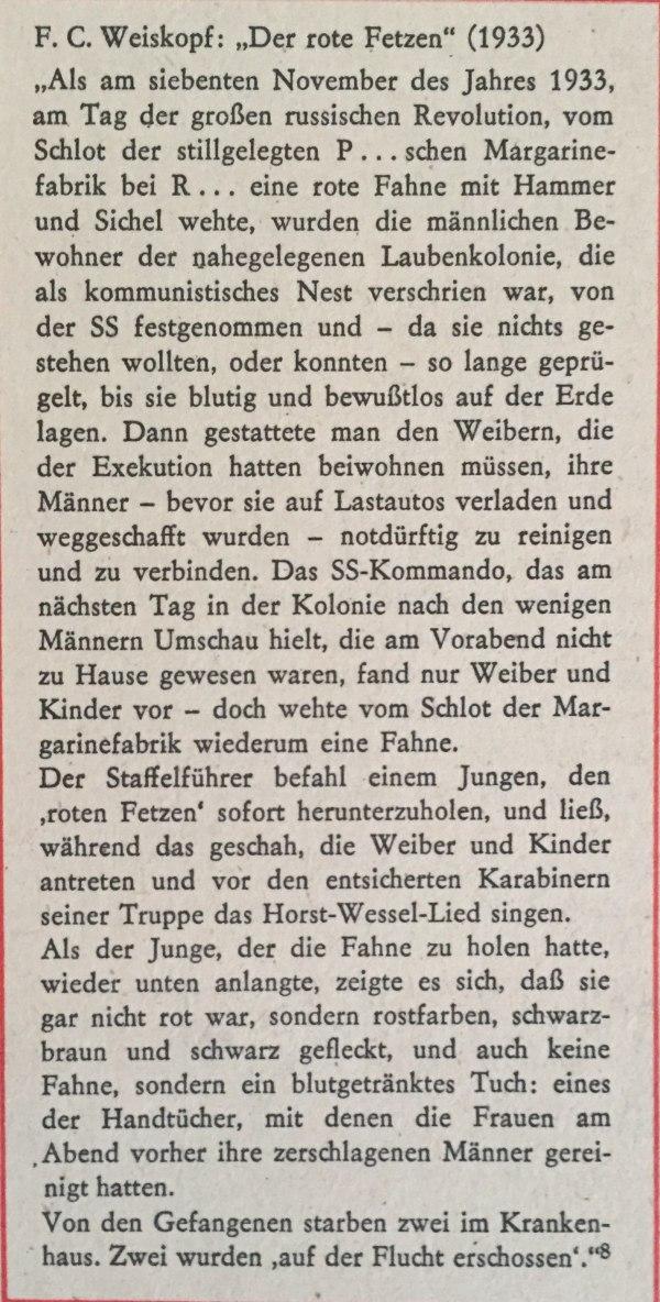 """F.C. """"Der rote Fetzen"""" (1933)"""