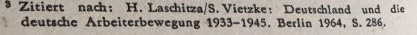 Quellenangabe Aus Aufruf der KPD zum Generalstreik 30.01.1933