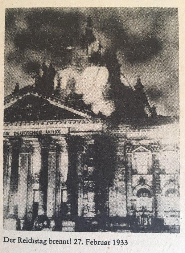 Reichstagsbrand 27.02.1933