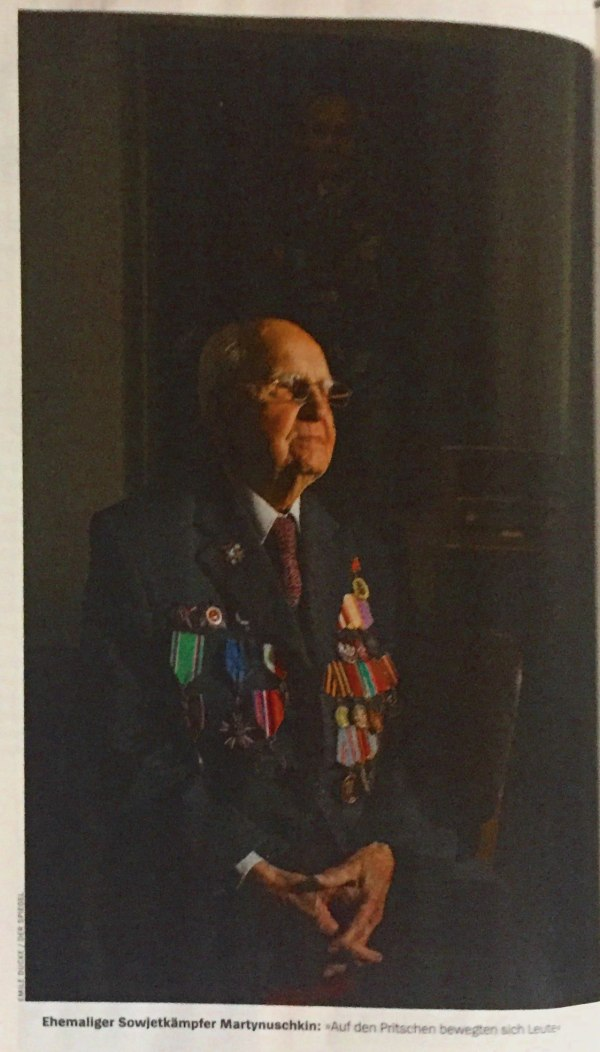 Ehemaliger Sowjetkämpfer Martynuschkin