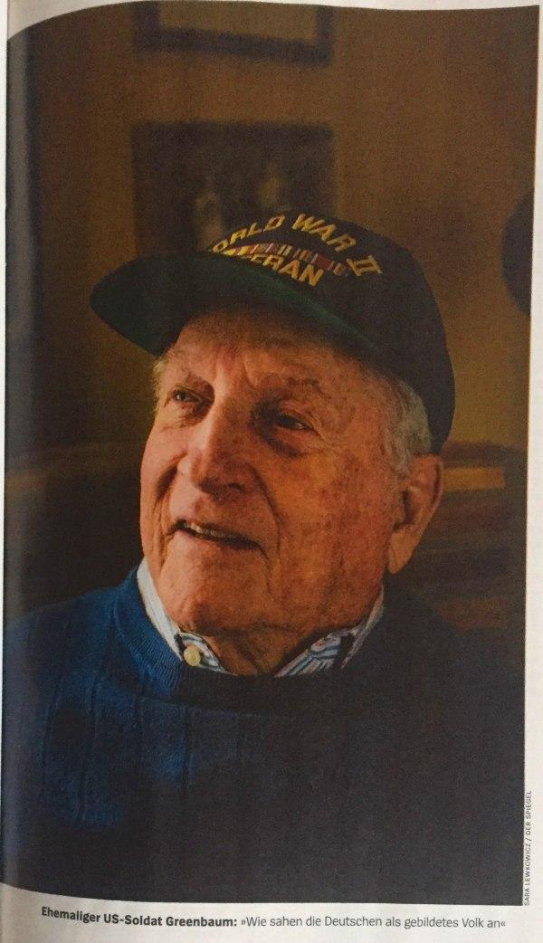 ehemaliger US-Soldat Greenbaum