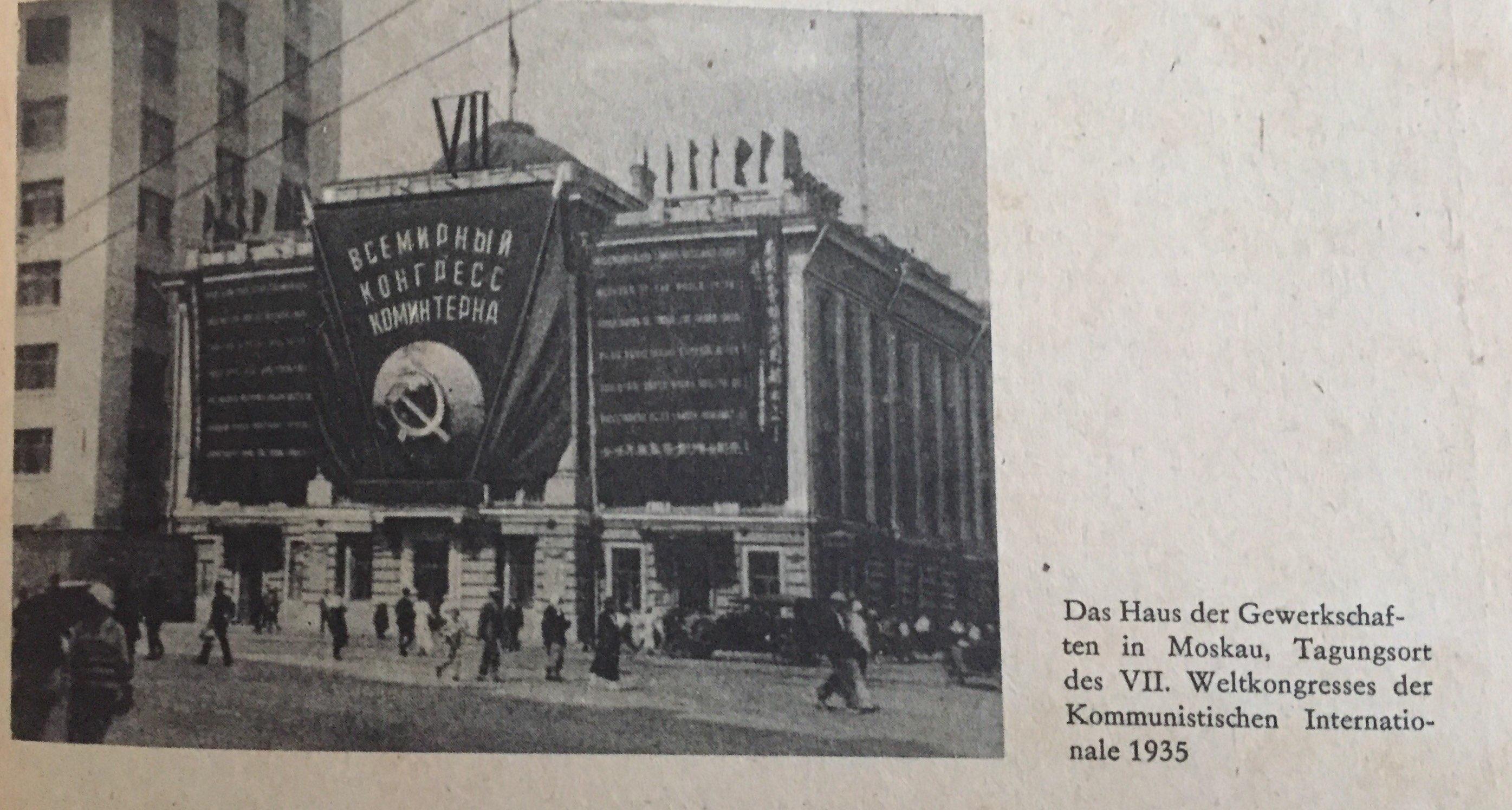 Haus der Gewerkschaften in Moskau