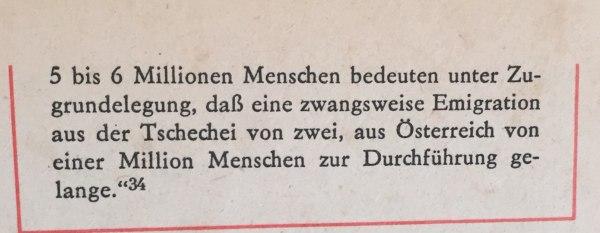 Aus Erklärung Hitlers über Ziele faschistischer Aggression 2