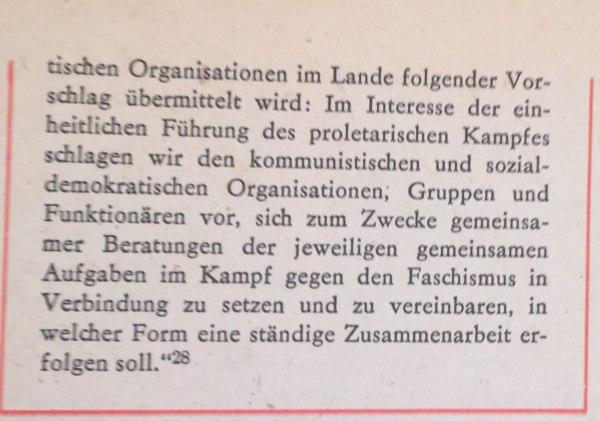 aus Vorschlägen an Führer der Sozialdemokratie 2