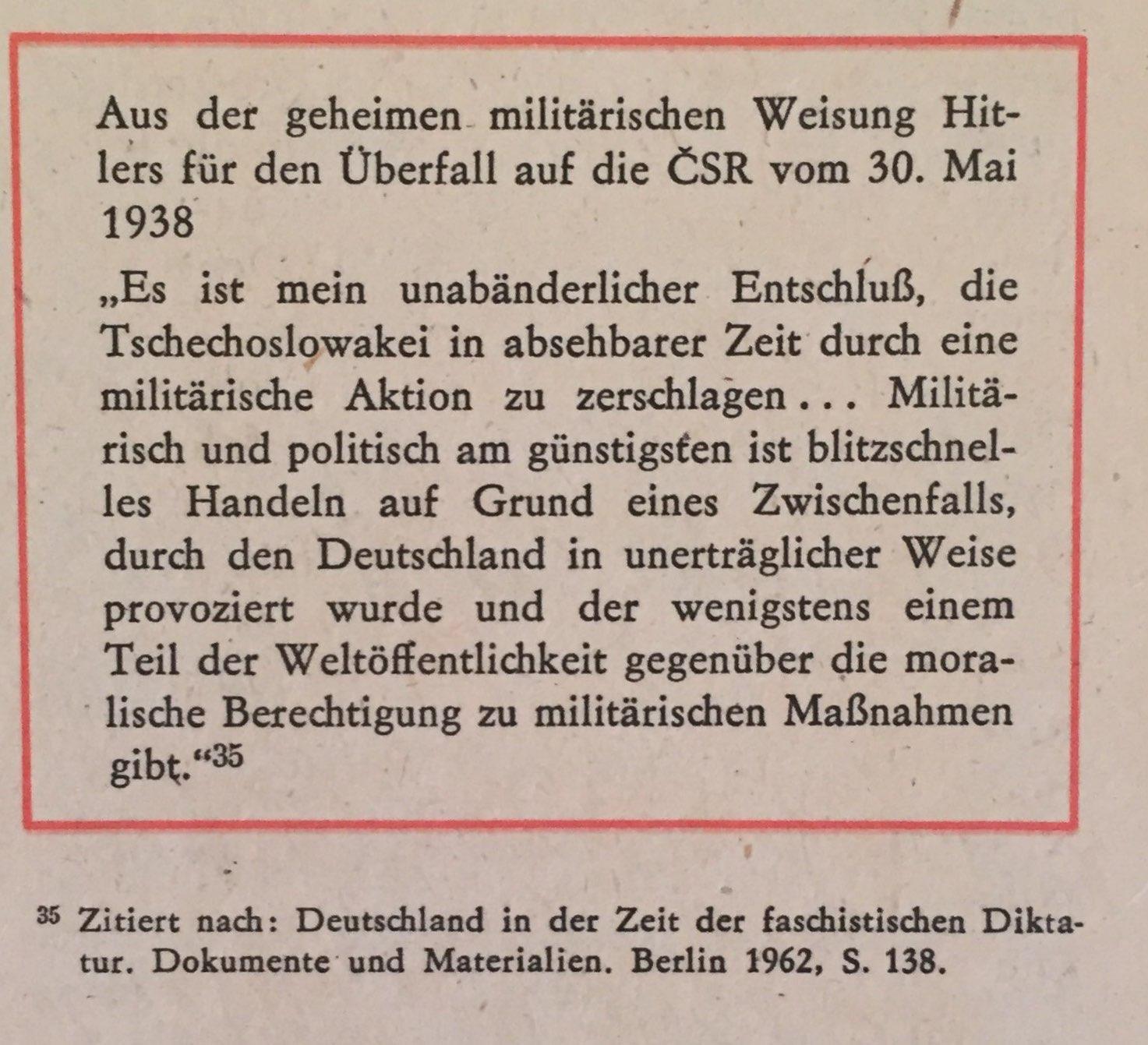 Überfall auf CSR geheime Weisung Hitlers Kopie