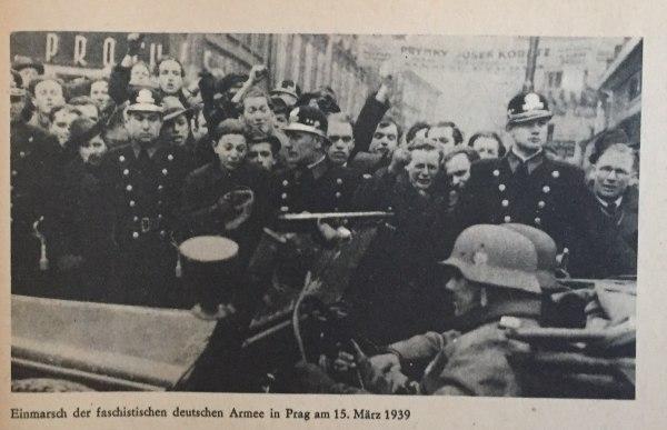 Einmarsch deutscher Truppen in Prag 1939 Kopie
