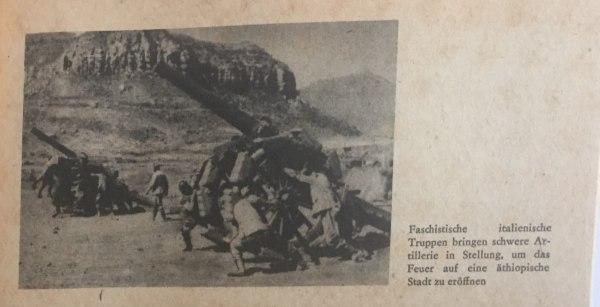 Italienische Truppen in Äthiopien Kopie