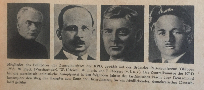 Die Brüsseler Parteikonferenz der KPD