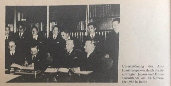 Unterzeichnung des Antikomminternpaktes Kopie