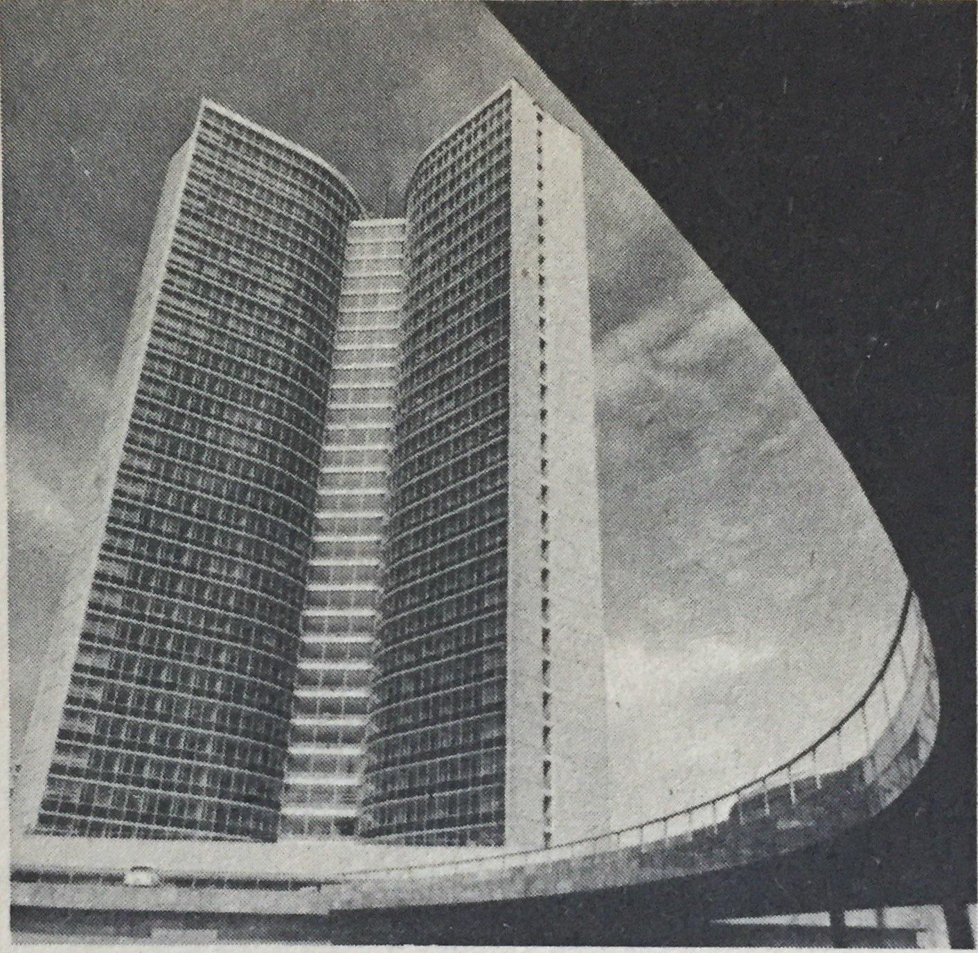 Das RGW-Gebäude in Moskau