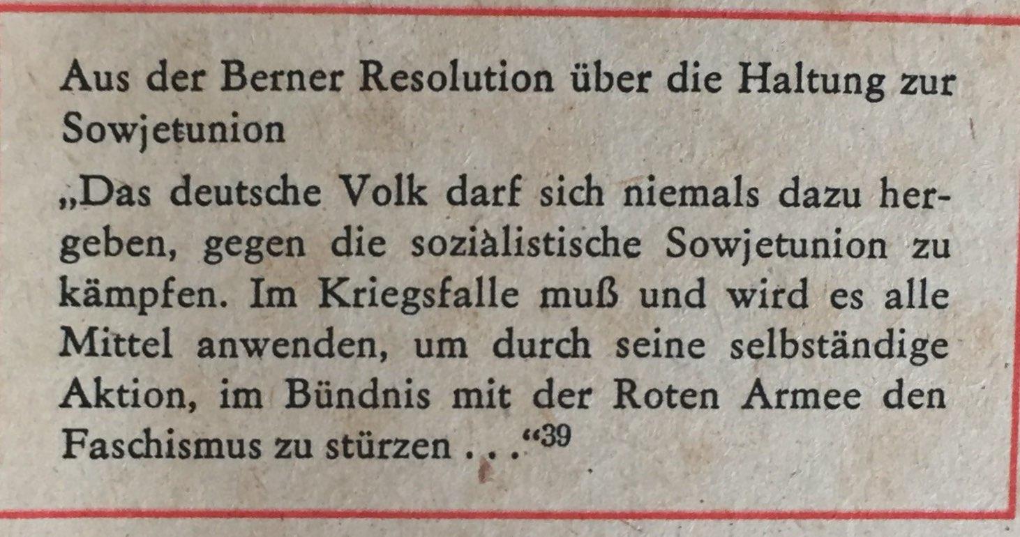 Berner Resolution