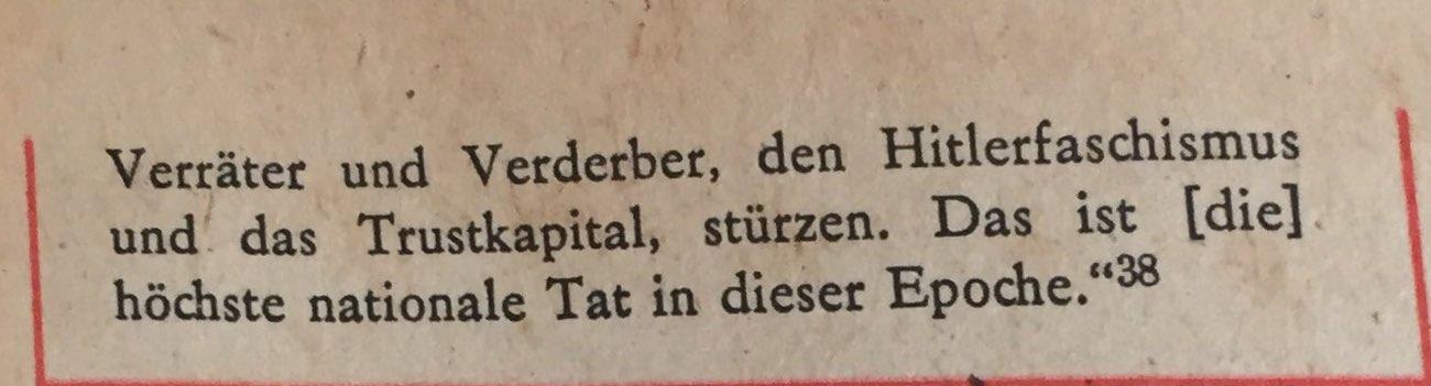 Referat Wilhelm Pieck auf Berner Konferenz 2