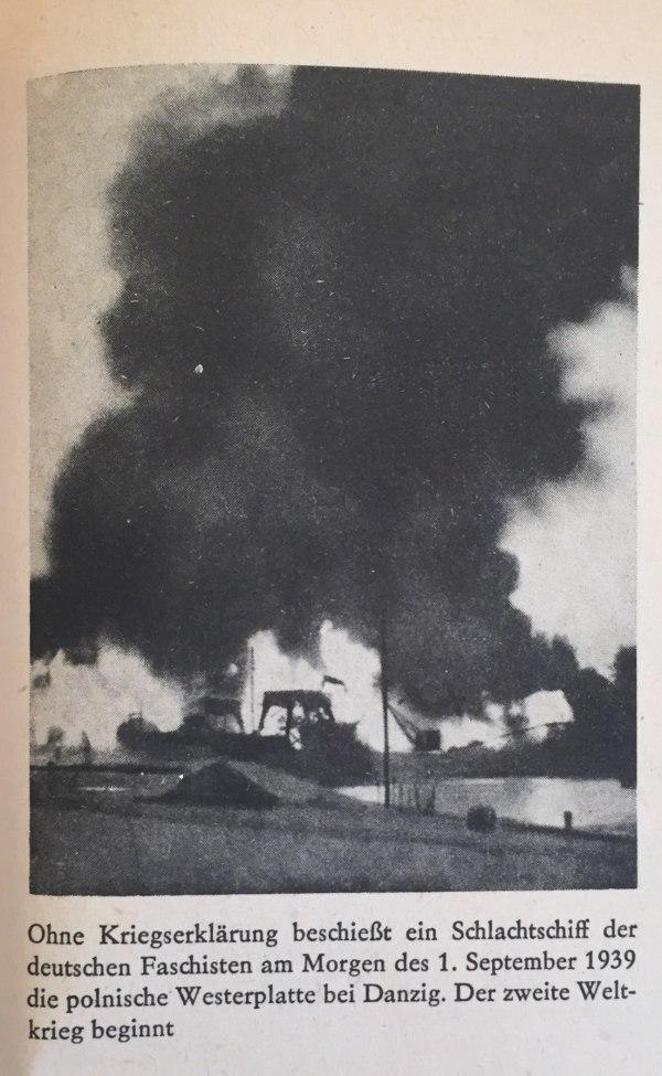 Angriff auf polnische Westernplatte