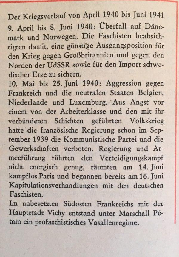 Kriegsverlauf April 1940 bis Juni 1941 1