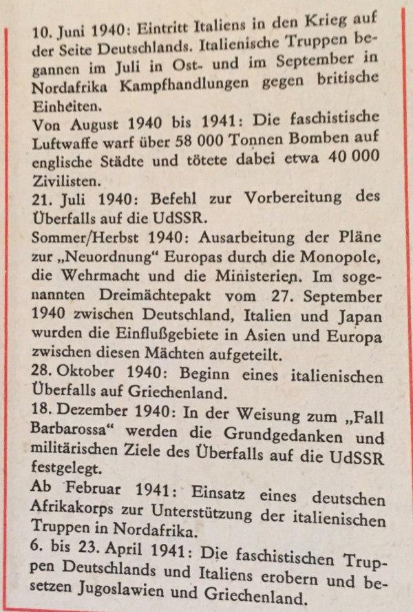Kriegsverlauf von April 1940 bis Juni 1941 2