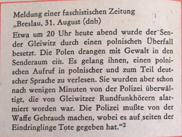 Meldung faschistische Zeitung