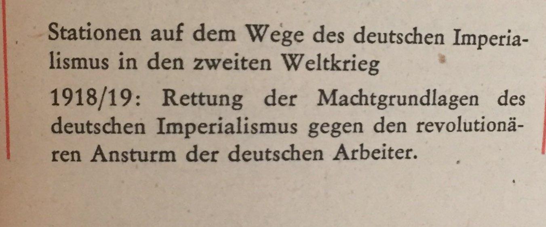 Der Weg des deutschen Imperialismus in den II. Weltkrieg