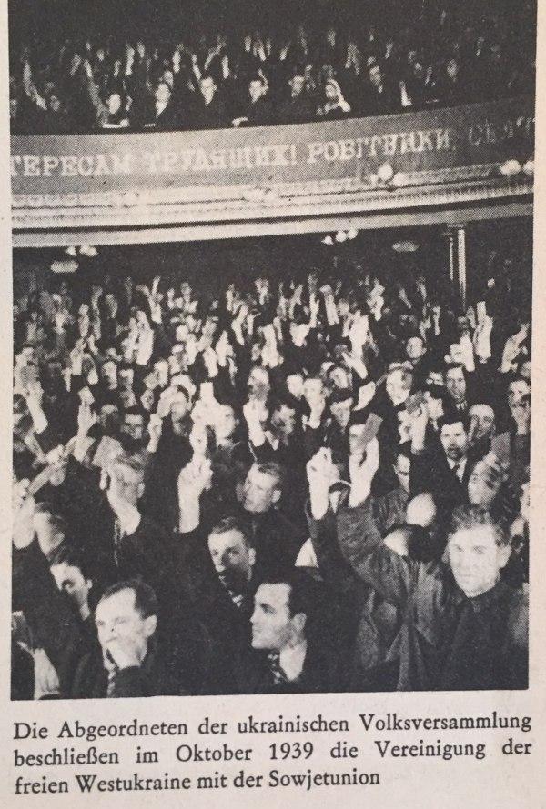 Ukrainische Volksversammlung 1939