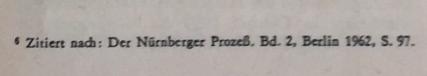 Zitat nach Nürnberger Prozess