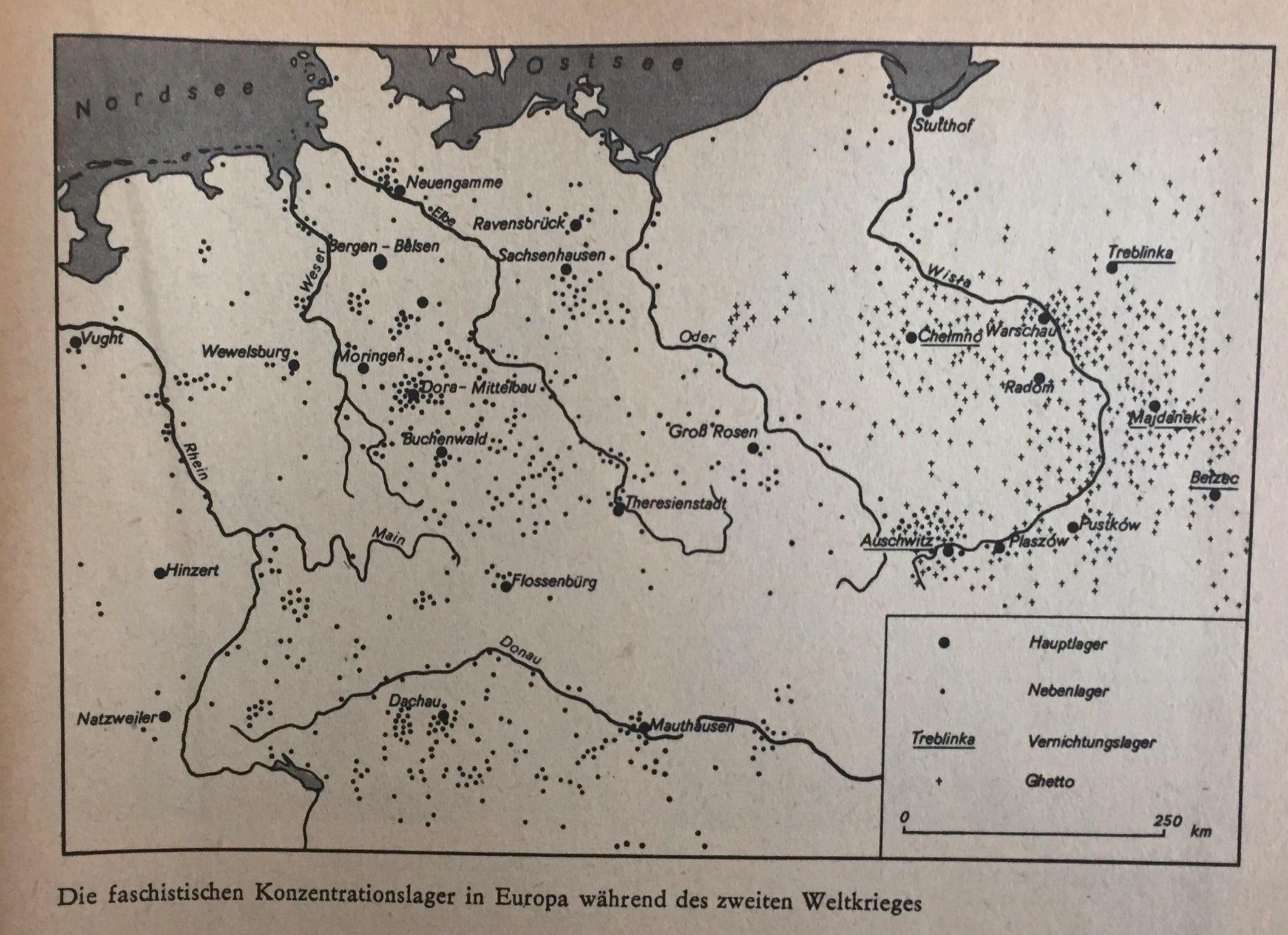 KZs in Europa während des II. Weltkrieges