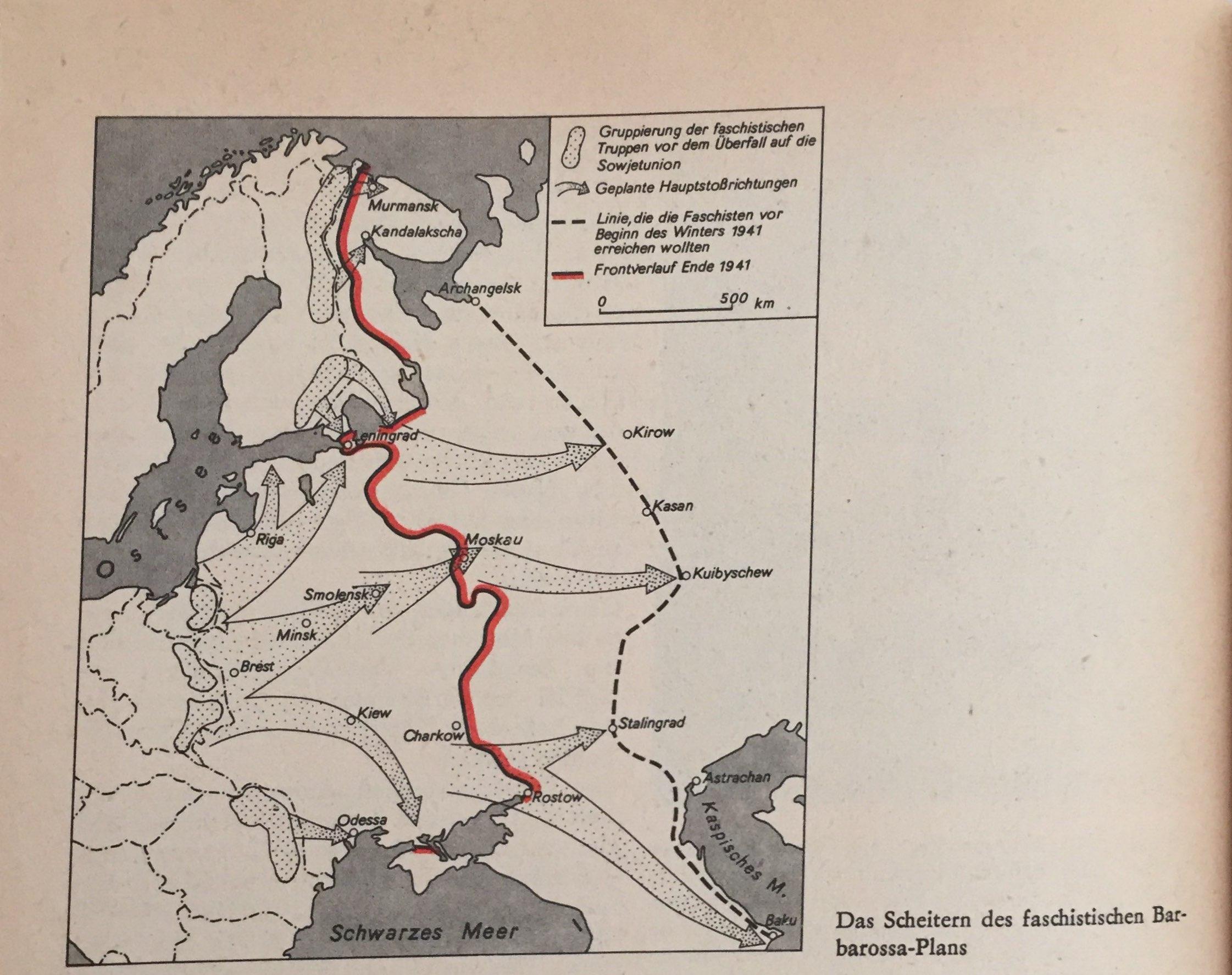 Scheitern Barbarossa-Plan
