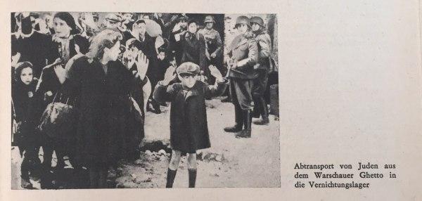 Abtransport von Juden aus Warschauer Ghetto