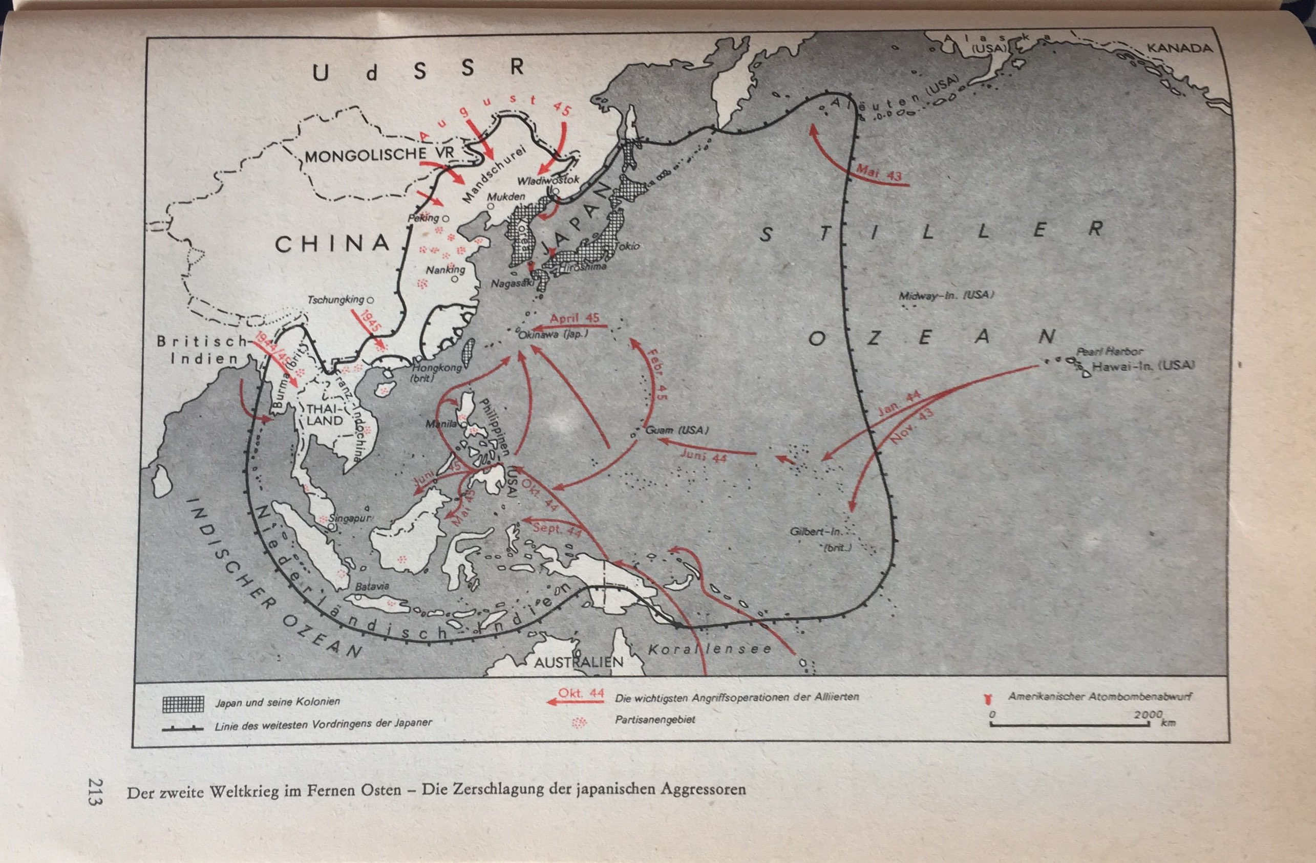 Der II. Weltkrieg im fernen Osten