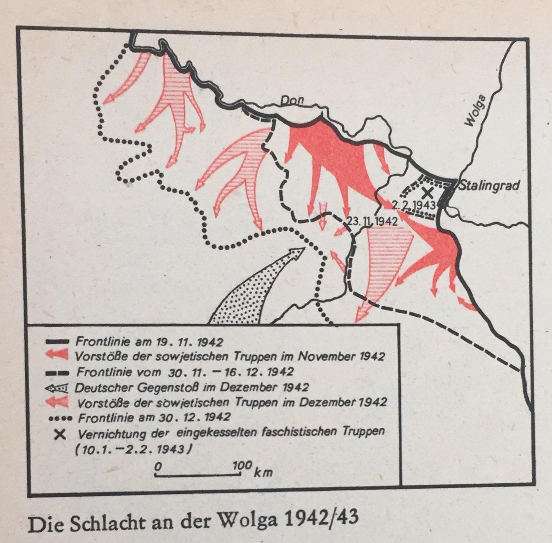 Die Schlacht an der Wolga 1942-43