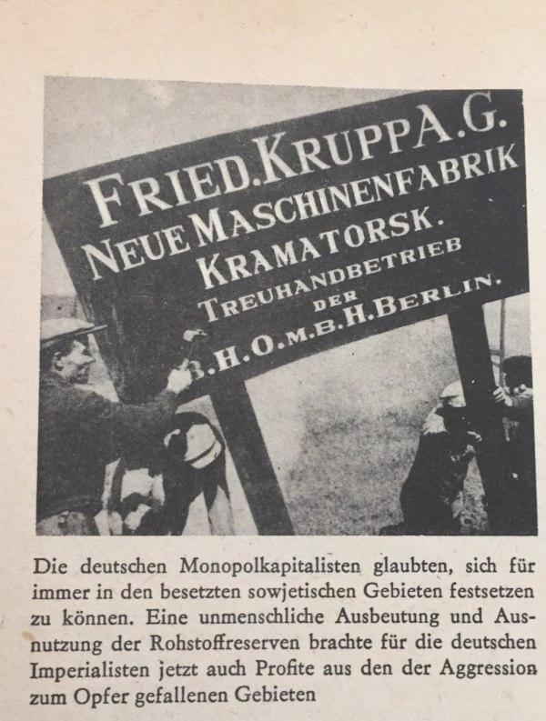 Festsetzung deutscher Monopolkapitalisten