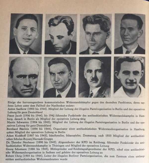 Kommunistische Widerstandskämpfer