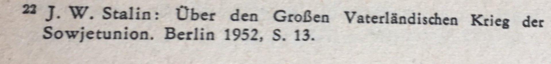 Quellenangabe aus der Rede Stalins vom 03.07.1941