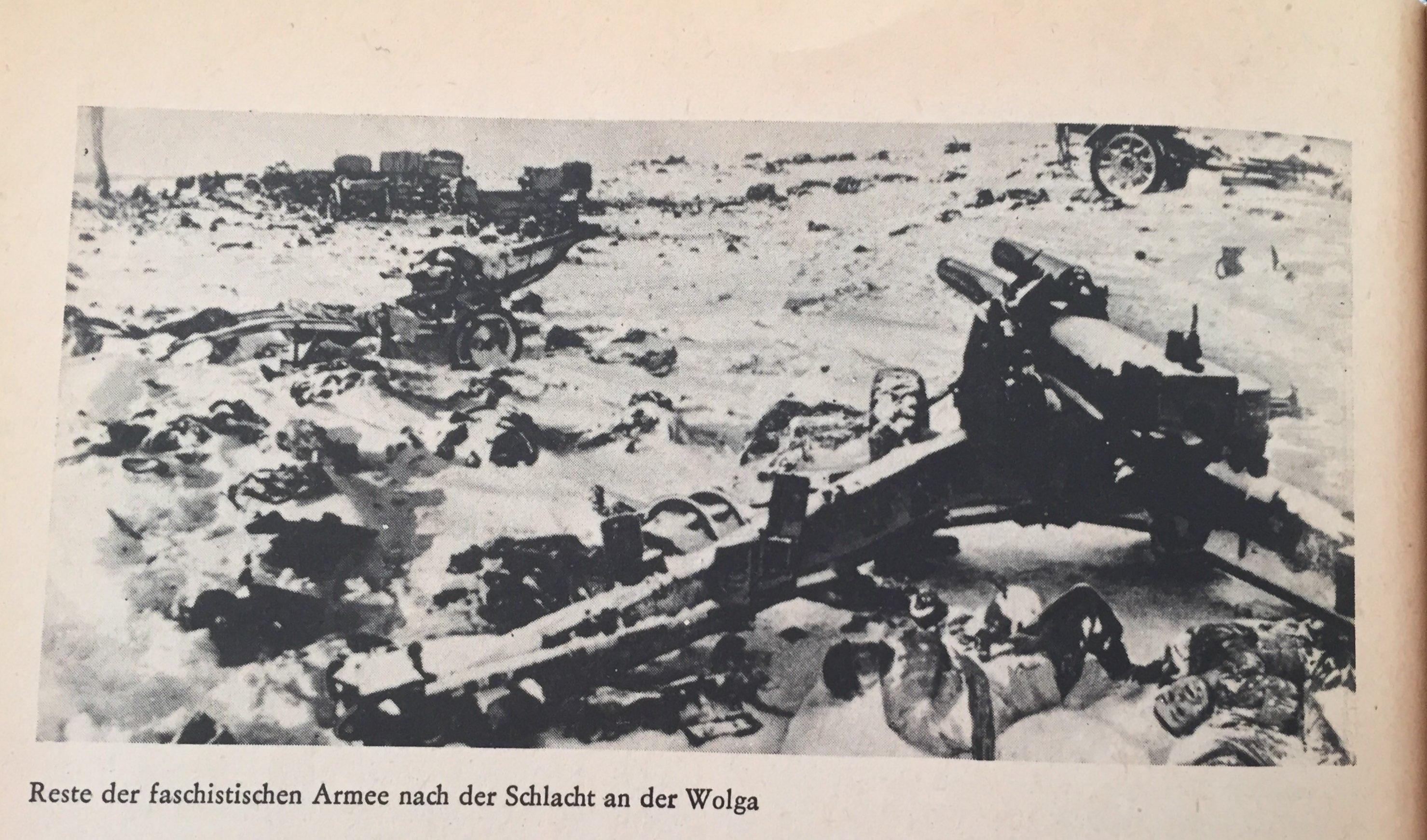 Reste Schlacht an der Wolga