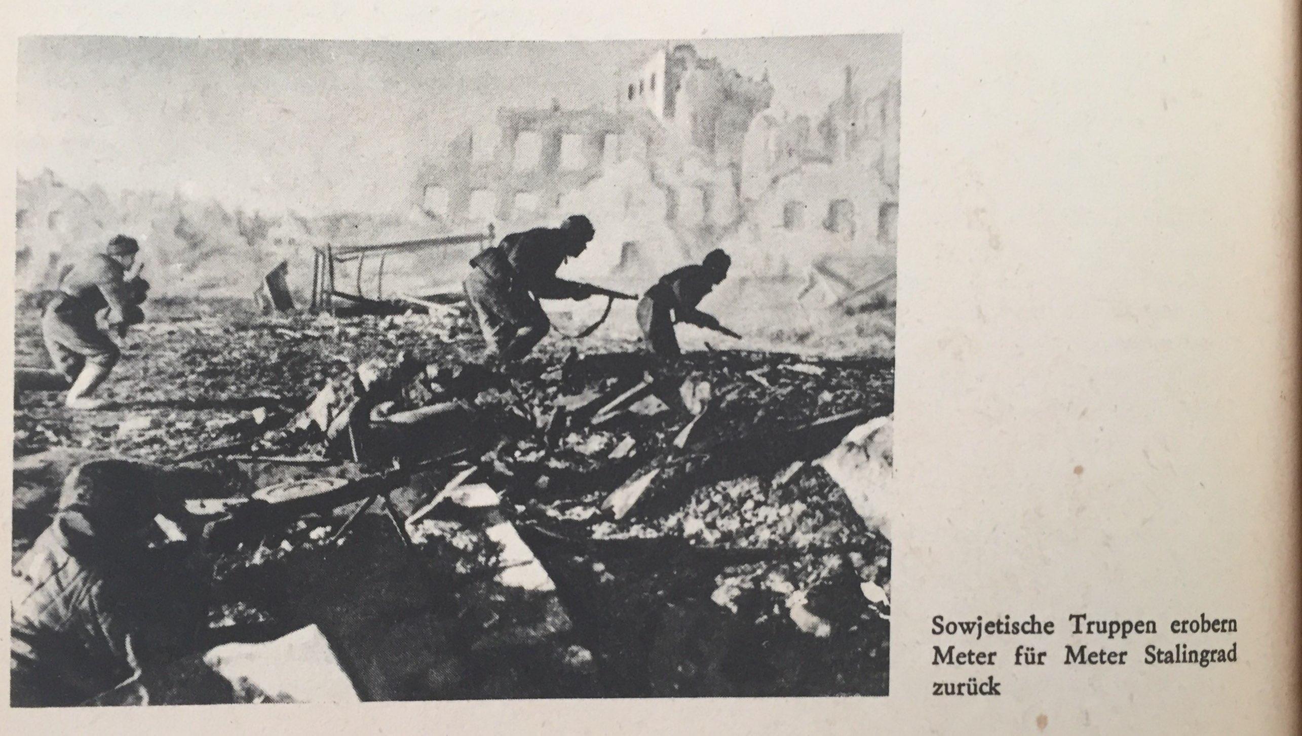 Sowjetische Truppen erobern Stalingrad zurück