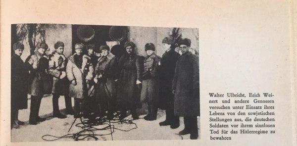 W.Ulbricht E.Weinert u.a.