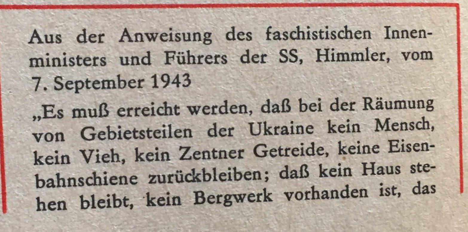 Anweisung von Himmler