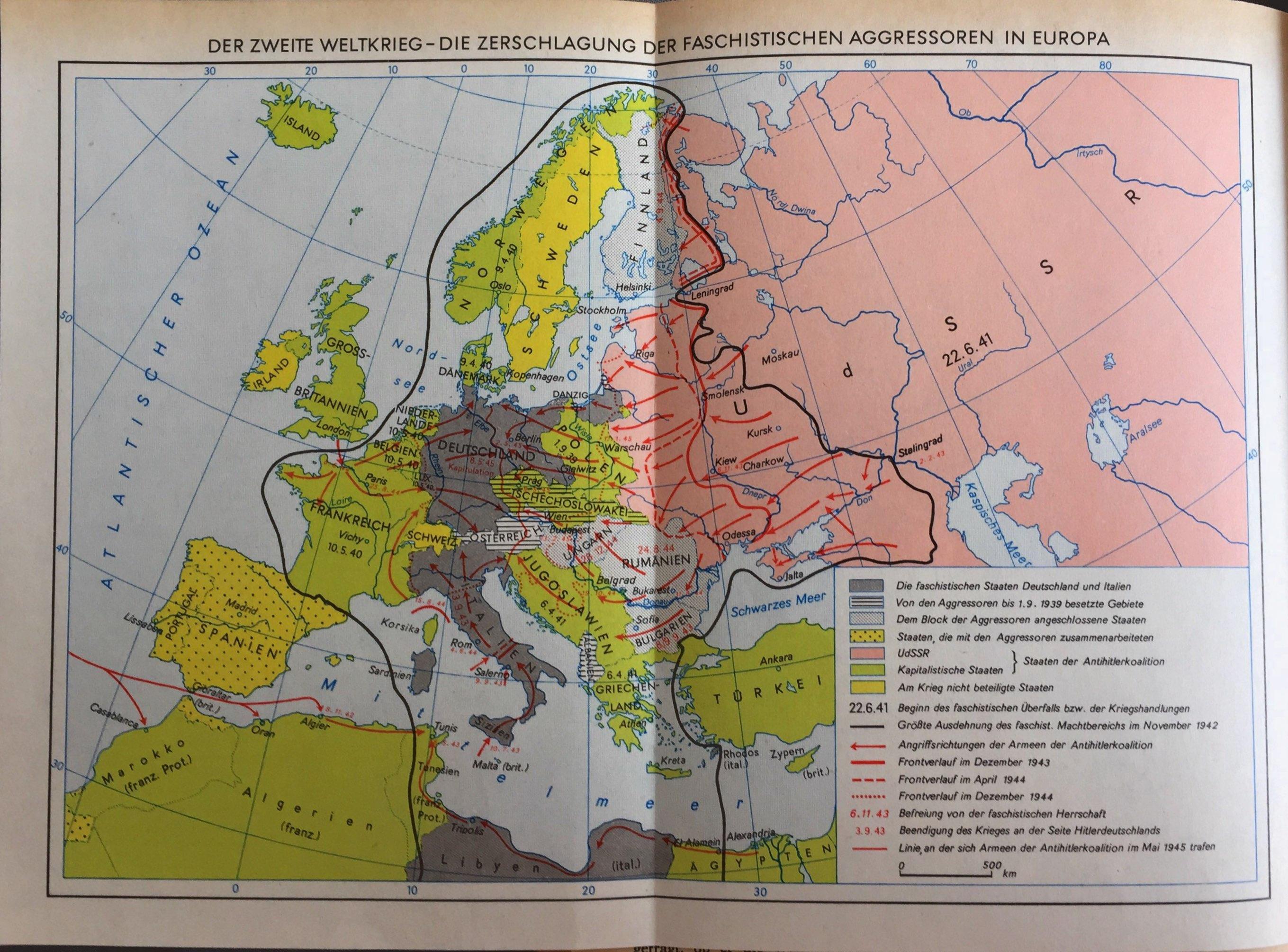 Der II. Weltkrieg_Die Zerschlagung der faschistischen Aggressoren in Europa