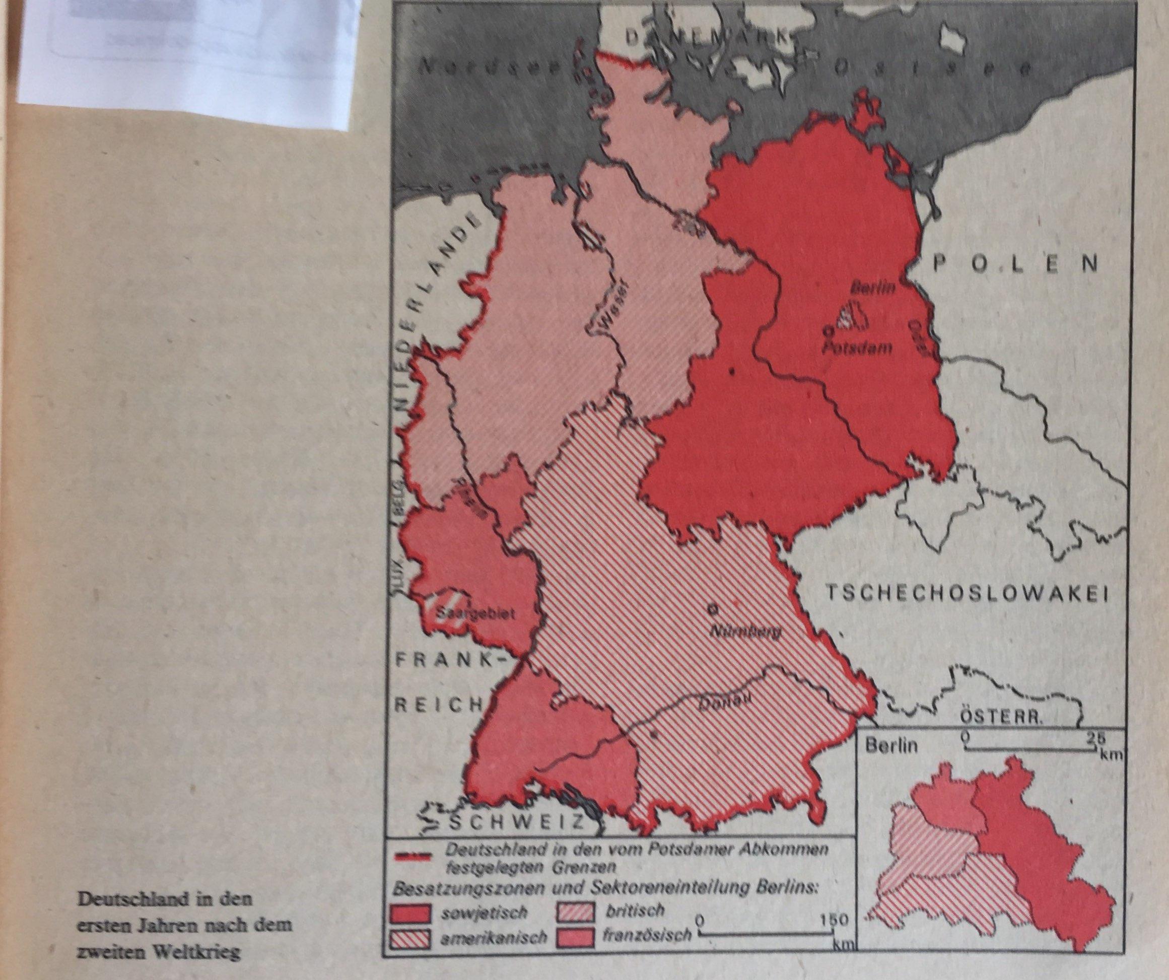 Deutschland nach dem II. Weltkrieg