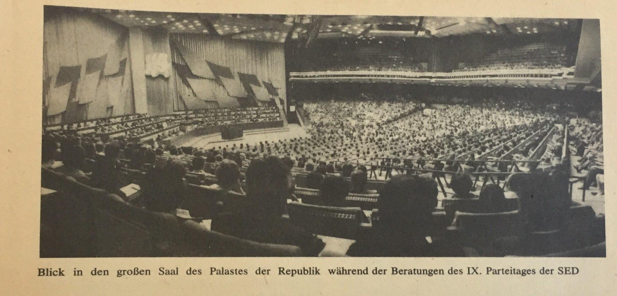 Der IX. Parteitag der SED und die weitere Gestaltung der entwickelten sozialistischen Gesellschaft der DDR