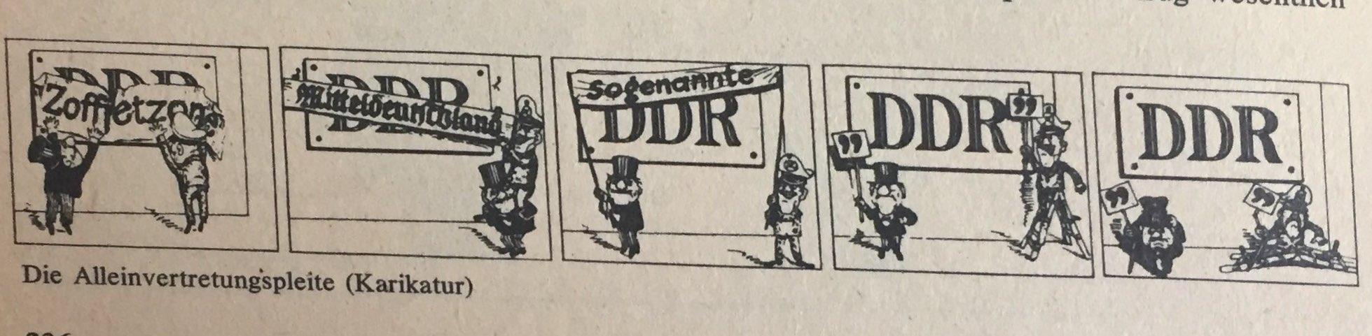 Die weitere Entwicklung der DDR als Bestandteil der sozialistischen Staatengemeinschaft
